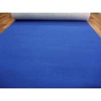 Blue Expo Event Carpet Budget Runner in 2m x 5m Increment Lengths