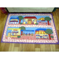 Childrens Kids Activity Store Front Play Mats 100x150CM