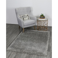 35mm Thick Waco Design Grey Shag Floor Area Rugs
