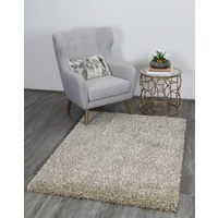 35mm Thick Waco Design Beige Shag Floor Area Rugs