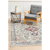 Traditional Suburban Design Floral Multi Floor Area Rugs Runners and Circles