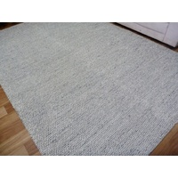 Avenue Design Knotted Texture Black and White Floor Area Rug