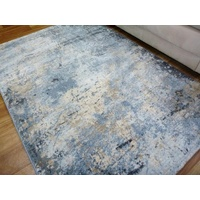 Modern Design Area Floor Rugs Florence Abstract Light Blue Multi