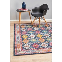 Traditional Millenia Design Patchwork Multi Floor Area Rugs Runners and Circles