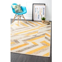 Modern Dimensions Design Denizili Floor Area Rug & Hall Runner Yellow