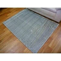 Super Soft Imitation Fur Snuffle Design Silver Floor Rugs Mats & Circle