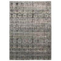 Contemporary Babylon Design Thebes Washed out Floor Area Rug Blue