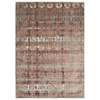 Contemporary Babylon Design Giza Washed out Floor Area Rug Rust