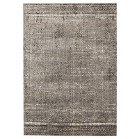 Contemporary Babylon Design Bastet Washed out Floor Area Rug Grey