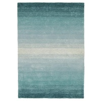 Modern Horizon Design Sails Textured Floor Area Rug Blue
