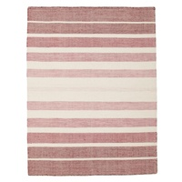 Wool & CottonHerblish Blush Flatweave Floor Area Rug