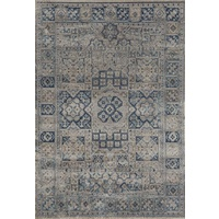 Traditional Persian Dhisolan Design Medallion Detailed Pattern Floor Area Rugs Bone