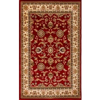 Traditional High Quality Vibrant Voyage Design Allover Red Floor Area Rugs