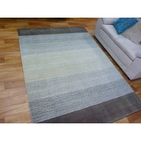 Chunky Wool Rugs Hand Loomed Whisper Cream Taupe Mocha