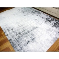Stain Resistant 20mm Thick Soft Pile Modern Rugs New Age Wash White Grey Black