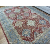 Elite Bakhtiari Red Blue Persian Design Soft High Quality Floor Area Rugs