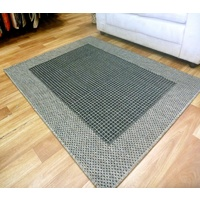 Sunrise Black Metal Flatweave Area Floor Rugs also Hall Runners