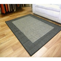 Sunrise Metal Black Flatweave Area Floor Rugs also Hall Runners