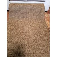 Sisal Look Indoor Outdoor Runner by the Meter Chestnut 80cm 1m 1.2m or 2m Wide Boucle Weave