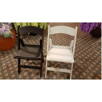 36 Americana Event Folding Chairs High Quality Resin & Reinforced Legs with Padded Seat