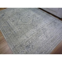 Persian Design Floor Area Rugs & Runner Chorus Cream Aged Allover Soft Feel