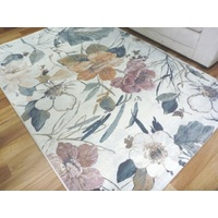 Aurora Floral Multi Contrast Modern Design Soft High Quality Floor Area Rugs