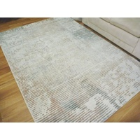 Aurora Pastel Lines Grey Pink Multi Modern Design Soft High Quality Floor Area Rugs